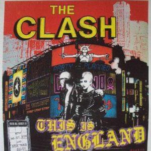 VINTAGE 1985 THE CLASH T-SHIRT