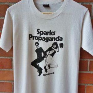 VINTAGE 1974 SPARKS PROPAGANDA T-SHIRT