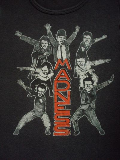 VINTAGE 70'S THE MADNESS T-SHIRT