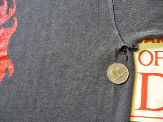 VINTAGE 1995 MARDUK FUCK ME JESUS T-SHIRT