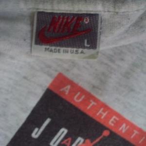 VINTAGE AIR JORDAN BY NIKE 90'S VINTAGE