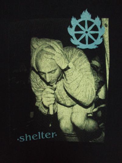 VINTAGE 1992 SHELTER T-SHIRT