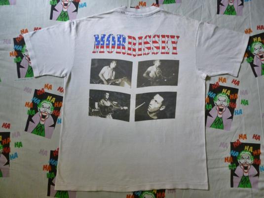 VINTAGE 1992 MORRISSEY USA TOUR T-SHIRT