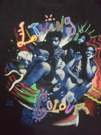 VINTAGE 1991 LIVING COLOUR
