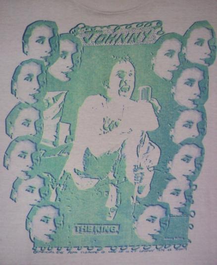 VINTAGE 1976 JOHNNY ROTTEN SEX PISTOLS T-SHIRT