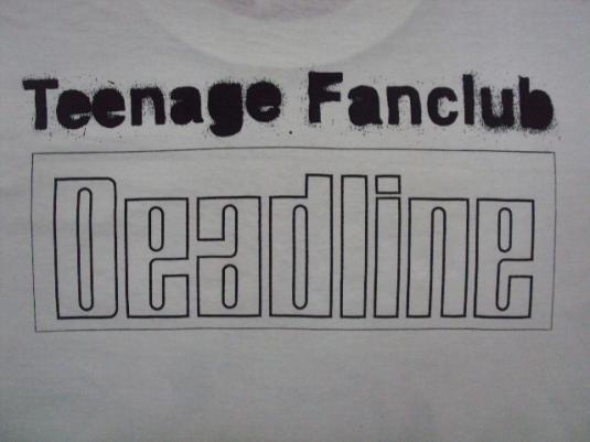 VINTAGE 1993 TEENAGE FANCLUB T-SHIRT