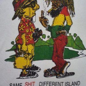 VINTAGE SAME SHIT JAMAICA ISLAND