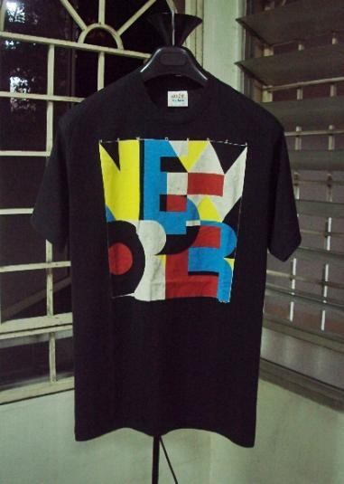 VINTAGE 1988 NEW ORDER TOUR T-SHIRT