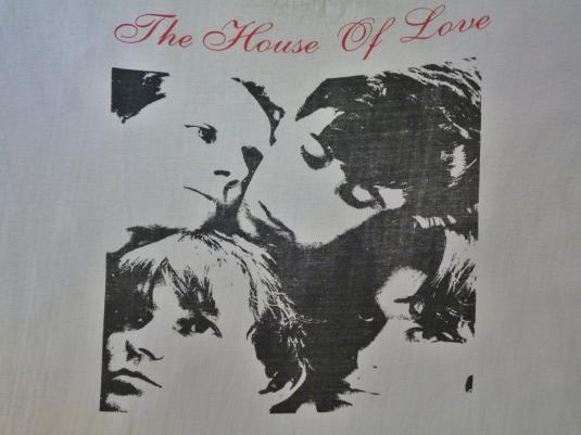 VINTAGE 1988 HOUSE OF LOVE DESTROY YOUR HEART T-SHIRT