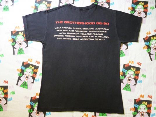 VINTAGE 1989 BON JOVI THE BROTHERHOOD T-SHIRT