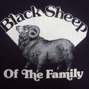 VINTAGE 80'S THE JOHN ANDERSON BAND BLACKSHEEP T-SHIRT