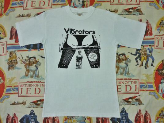 VINTAGE THE VIBRATORS T-SHIRT