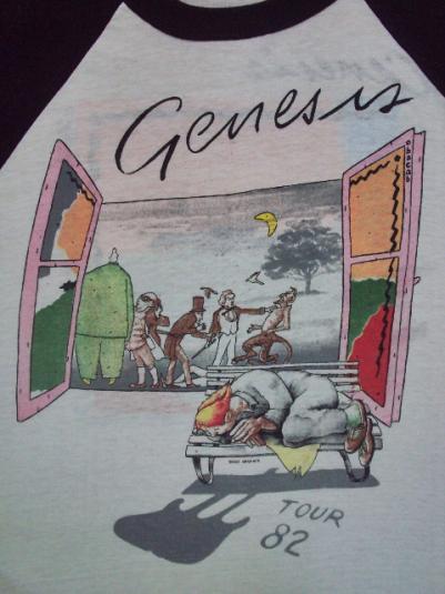 VINTAGE 1982 GENESIS ABACAB TOUR JERSEY