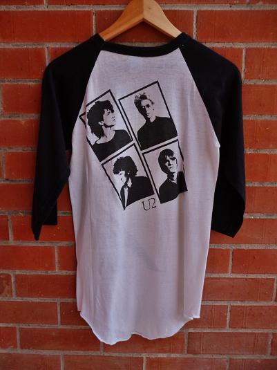 Vintage 1980 U2 Boy Concert tour T-Shirt