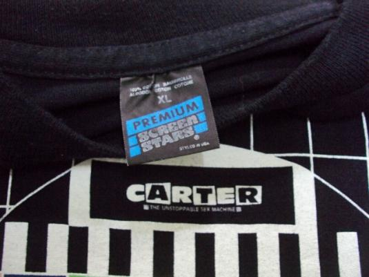 VINTAGE 1991 CARTER THE UNSTOPPABLE SEX MACHINE T-SHIRT