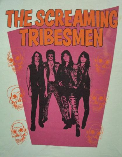 VINTAGE 1988 THE SCREAMING TRIBESMAN T-SHIRT