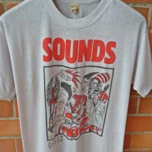 VINTAGE 1983 SOUNDS MAGAZINE PUNK MODS SKINHEAD CONCERT