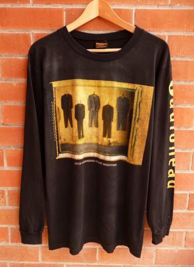 Vintage 1993 RADIOHEAD Stop Whispering T-Shirt