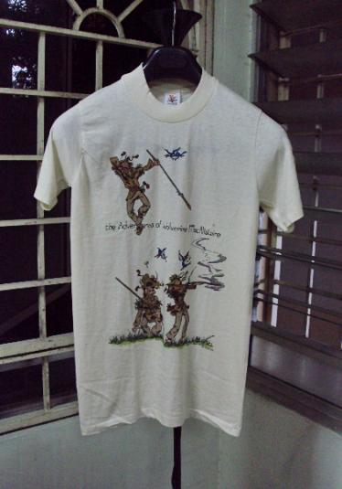 VINTAGE 1984 WOLVERINE MACALISTAIRE T-SHIRT