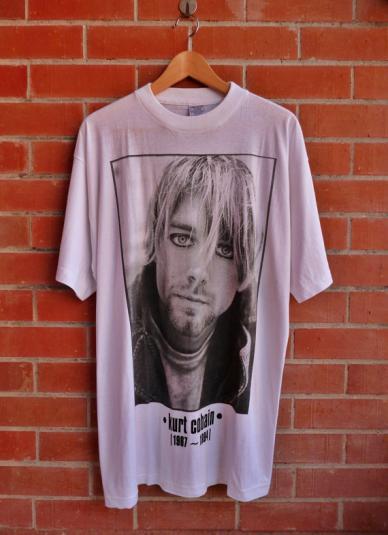 Vintage 1994 Kurt Cobain Tribute T-Shirt