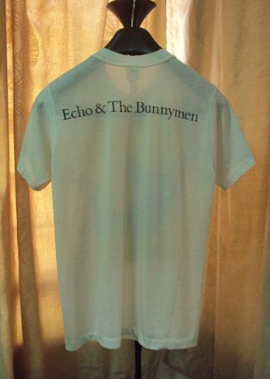 VINTAGE 1980'S ECHO & THE BUNNYMEN