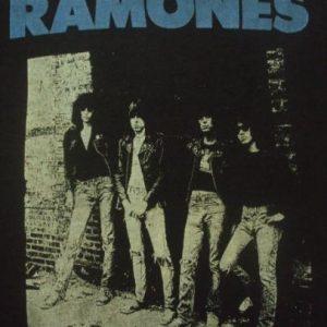 VINTAGE 1980's RAMONES