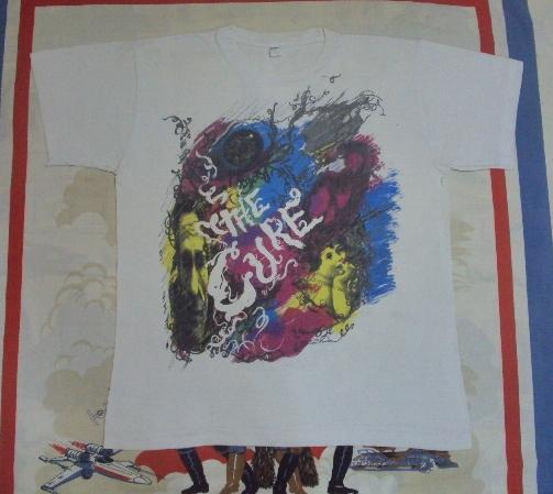 VINTAGE 1989 THE CURE T-SHIRT