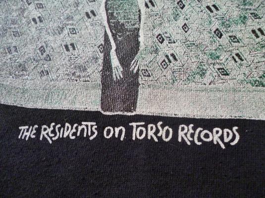 VINTAGE 80S THE RESIDENTS SWEATSHIRT T-SHIRT