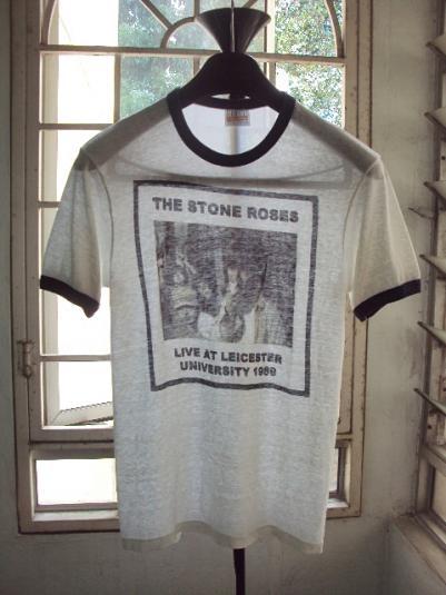 RARE VINTAGE 1989 STONE ROSES T-SHIRT