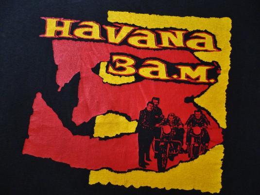 VINTAGE HAVANA 3AM THE CLASH PAUL SIMONON T-SHIRT
