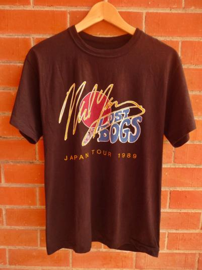 Vintage 1989 Neil young and the lost dogs Japan Tour t-shirt