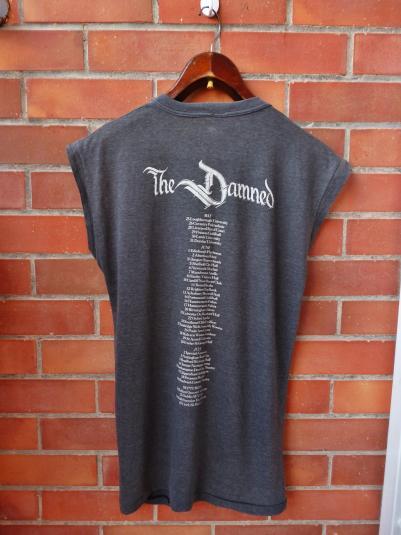 VINTAGE 1985 THE DAMNED PHANTASMAGORIA T-SHIRT