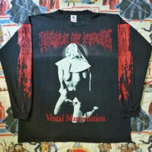 VINTAGE 1995 CRADLE OF FILTH TOUR T-SHIRT