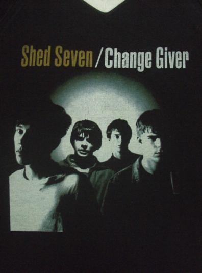 VINTAGE 1994 SHED SEVEN T-SHIRT