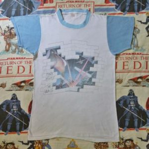 VINTAGE 1979 PINK FLOYD THE WALL T-SHIRT