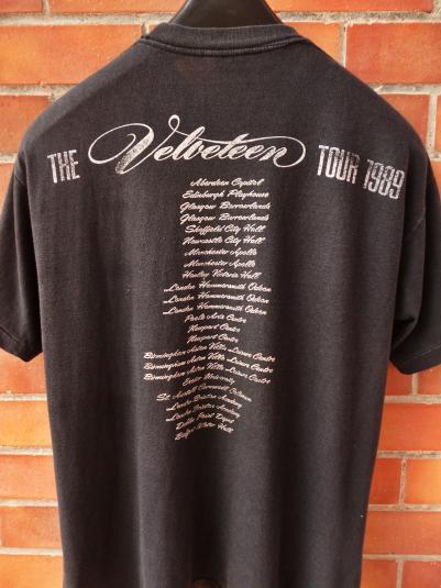 VINTAGE 1989 TRANSVISION VAMP THE VELVETEEN TOUR T-SHIRT