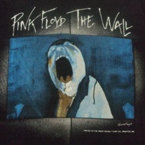 VINTAGE PINK FLOYD THE WALL 1981 PROMO