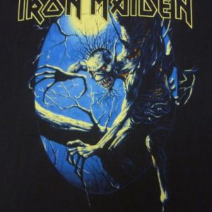 "VINTAGE 1992 IRON MAIDEN ""FEAR OF THE DARK"" T-SHIRT"