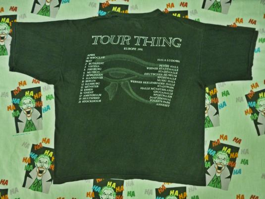 VINTAGE SISTERS OF MERCY VISION THING TOUR T-SHIRT