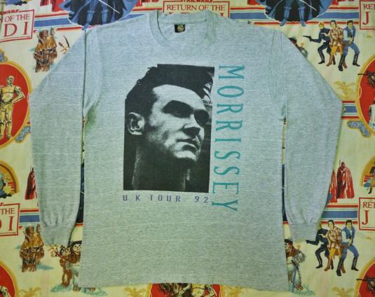 VINTAGE 1992 MORRISSEY UK TOUR T-SHIRT