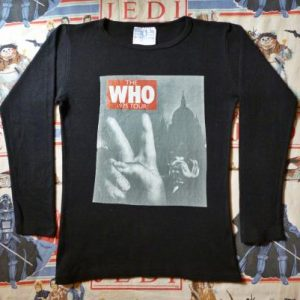 1975 THE WHO TOUR T-SHIRT