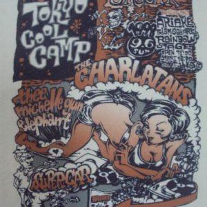 VINTAGE THE CHARLATANS 90'S JAPAN TOUR