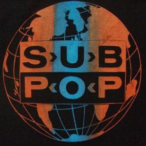 VINTAGE SUB POP WORLD DOMINATION T-SHIRT