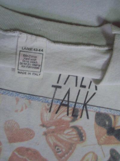 VINTAGE 1986 TALK TALK T-SHIRT