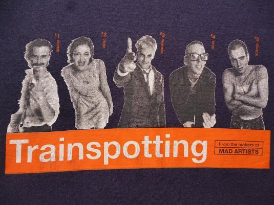 VINTAGE TRAINSPOTTING T-SHIRT