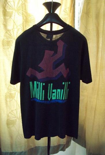 VINTAGE 1990 MILLI VANILLI T-SHIRT
