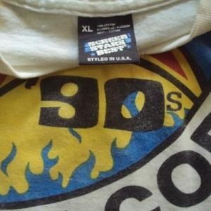 VINTAGE 1990 HAPPY MONDAYS USA TOUR T-SHIRT