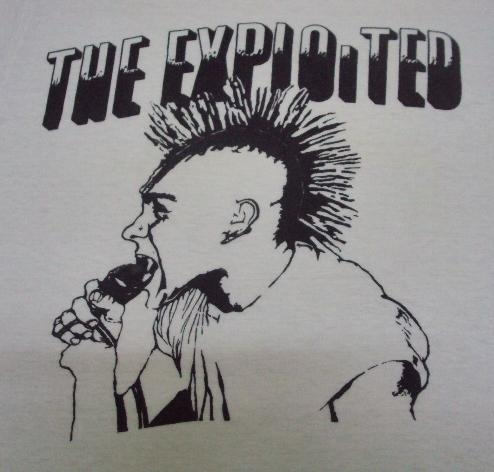 VINTAGE EARLY 80'S THE EXPLOITED