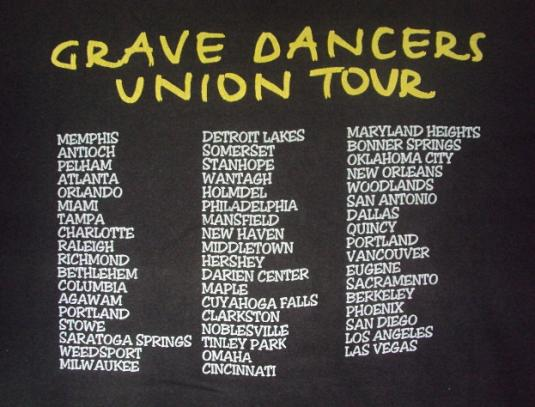 VINTAGE 1992 SOUL ASYLUM TOUR T-SHIRT
