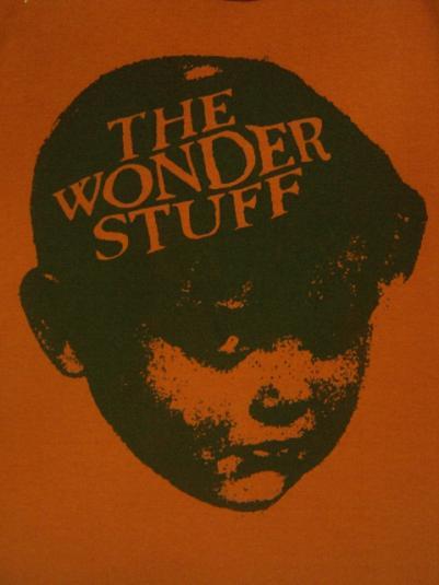 VINTAGE 1987 THE WONDER STUFF T-SHIRT
